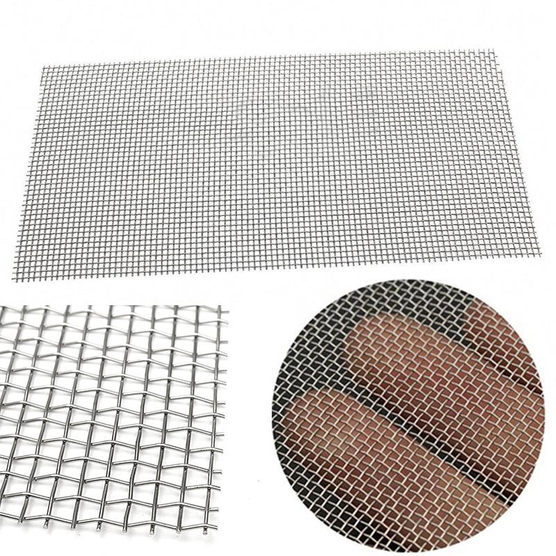 5/8/20/30/40 de malla de alambre tejido de acero inoxidable de alta calidad de filtro de 15x30cm