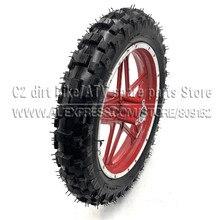10''Mini Dirt Bike Knobby Tire wheels 2.50-10 Front or Rear rims & tyre Off Road Motocross mini motorrad child