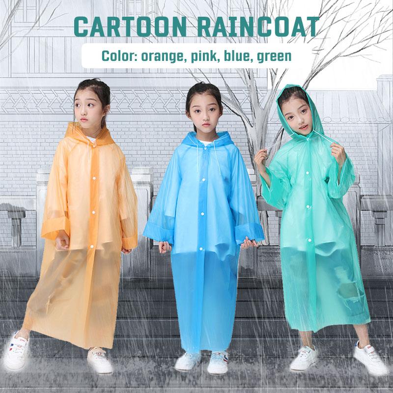 Chubasquero transparente con capucha para exteriores, chubasquero para adultos, chubasquero unisex, ideal para la lluvia