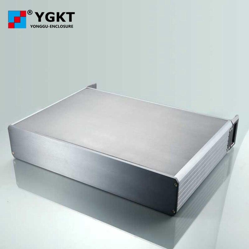 حار بيع 432*88 * D 2U رف هيكل الخادم الألومنيوم ضميمة PCB حالة