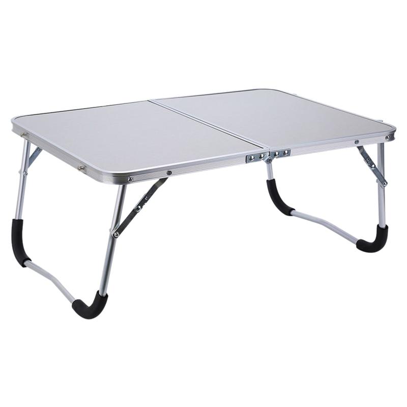 NHBR-Soporte de mesa portátil ajustable para ordenador portátil plegable bandeja de cama de escritorio de lectura