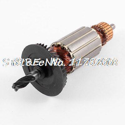 AC220V taladro de impacto eléctrico Rotor de armadura de eje de 4 dientes para Bosch GBH 2-20se