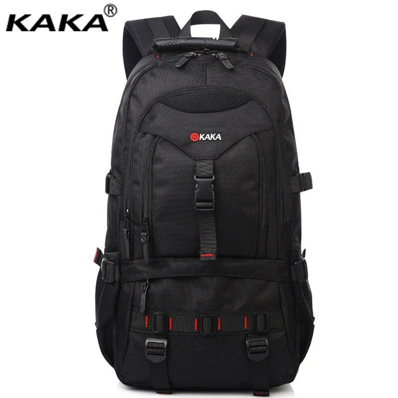 KAKA men oxford military backpacks 22 inch laptop bag travel school students bookbag male business rucksacks with big capacity