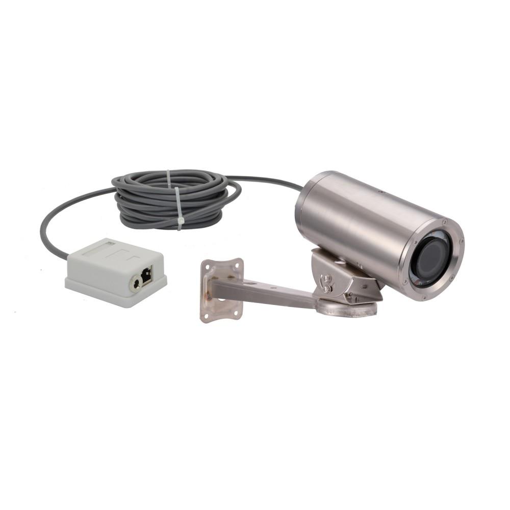 Acero inoxidable 1080P bajo el agua POE cámara de red IP WAN/LAN remoto ajustar eléctrico lente de Zoom y inteligente ajustar luz blanca