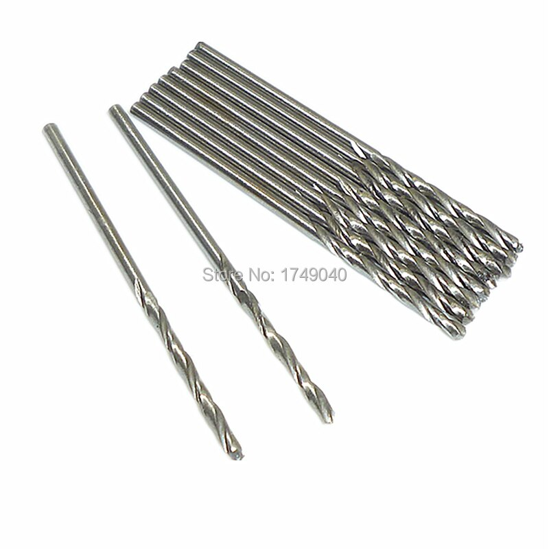 10pcs micro 1 5mm drill bit hss straight shank electrical tool twist drilling bit suitable for wood aluminium plastic drilling 10pcs Micro 1.5mm Drill Bit HSS Straight Shank Electrical Tool Twist Drilling Bit Suitable for Wood Aluminium Plastic Drilling