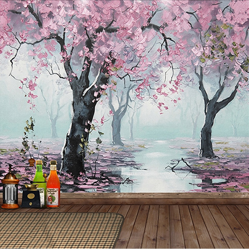 beibehang pastoral flowers wallpaper for walls 3d wall paper for wall 3 d classic embossed tv room bedroom wall paper home decor Custom Mural Wallpaper 3D Embossed Flowers Oil Painting Wall Paper For Living Room Bedroom Home Decor Wall Covering 3 D Frescoes