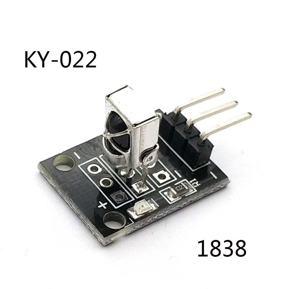 KY-022 3pin TL1838 VS1838B 1838 Universal IR Infrared Sensor Receiver Module for Uno Diy Starter Kit