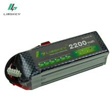Limskey Power Lipo Battery 14.8V 2200mAh 25C Max 35C 4S T XT60 Plug For RC Quadcopter Truck Drone Battery 14.8 Lipo Battery 4s