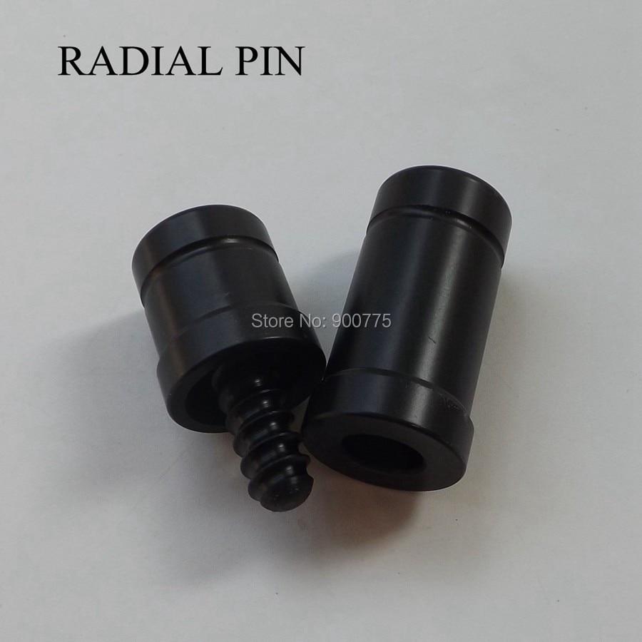 2 conjunto taco de bilhar joint protector/vara de Bilhar Acessórios/1/2 Caps Conjunta pino Radial