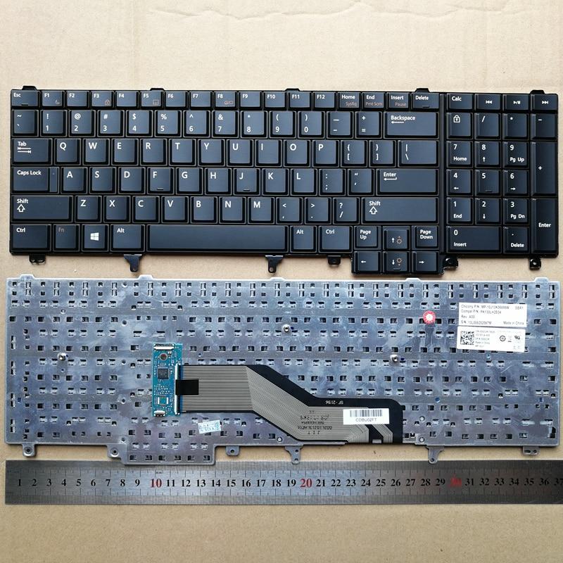 Новая клавиатура для Dell Precision M2800 M4600 M4700 M4800 M6600 M6700 M6800 DPN0DG33R, черная английская раскладка