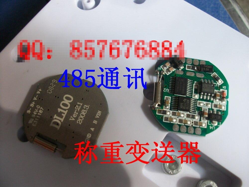 1PCS X ,Analog resistive strain gauge sensor transmitter module 485 digital weighing measurement DL101 pressure measurement, Fre