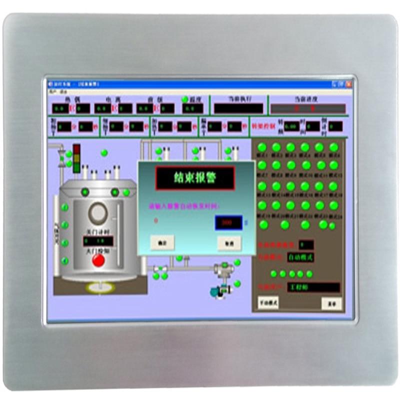 Preço barato fanless 10.1 Polegada tela de toque industrial painel pc para sistema pos