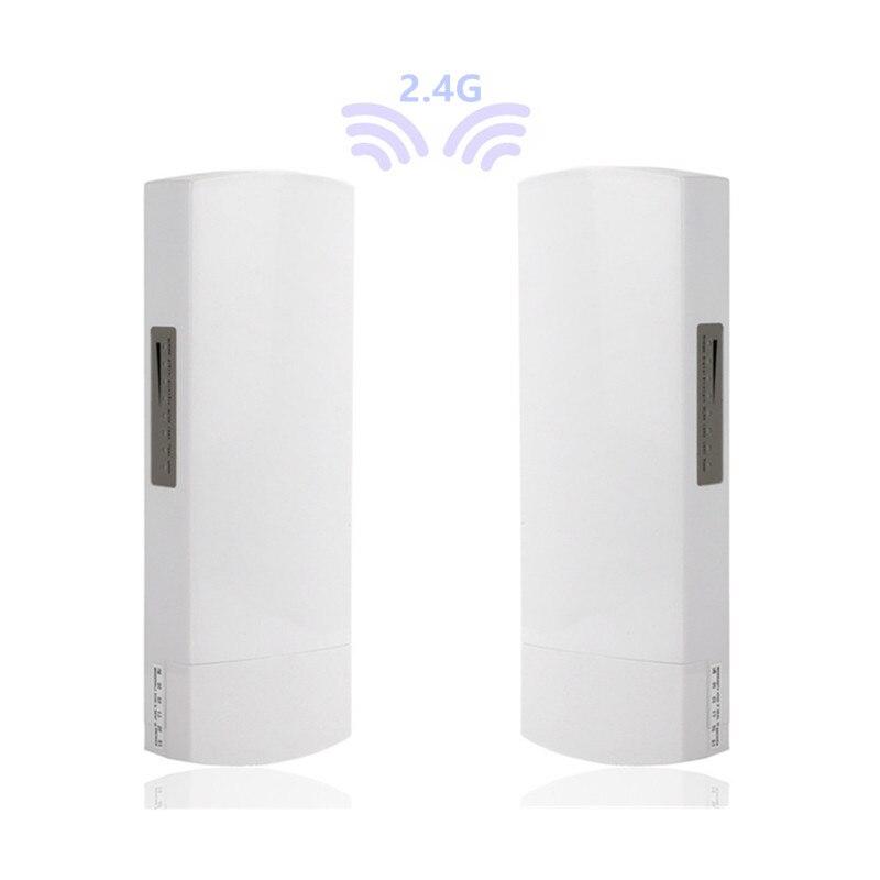 Enrutador abierto de 1-3km, 300 Mbit, CPE 2,4G, punto de acceso inalámbrico,...
