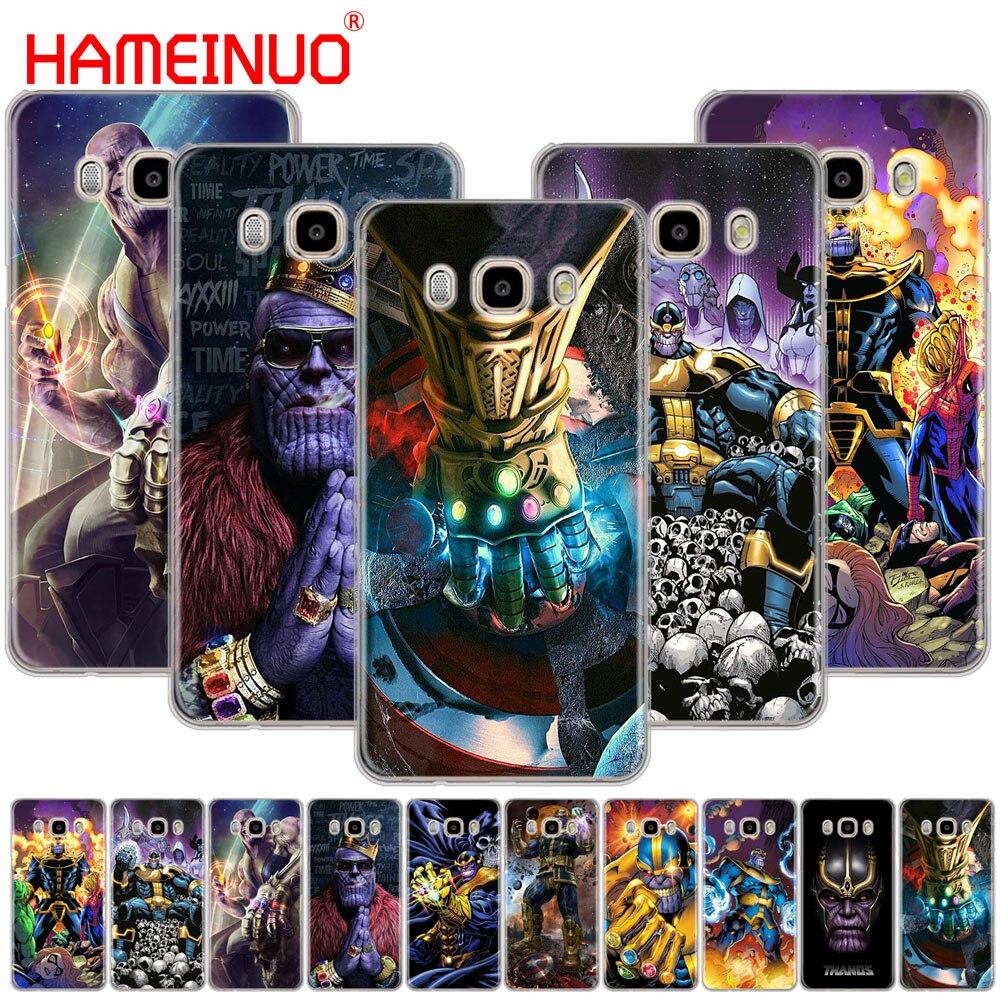 HAMEINUO Thanos Marvel cover phone case for Samsung Galaxy J1 J2 J3 J5 J7 MINI ACE 2016 2015 prime