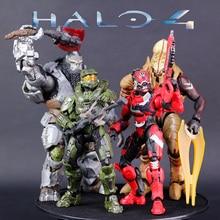 Halo Grün Master Chief Spartan Krieger Halo Halter Chef Offizier Beweglichen Puppe Action Figure Opp Tasche Pack