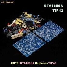 2 PIÈCES QUAD405 amplificateur De Puissance Kit DE BRICOLAGE Avec KTD1047 (2 canaux)