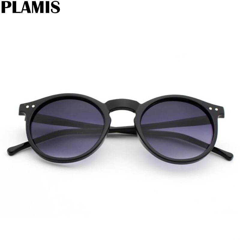 2021 New Sunglasses women Brand Designer Acetate Round Sun Glasses for Men Classic Rivet Eyewear fem