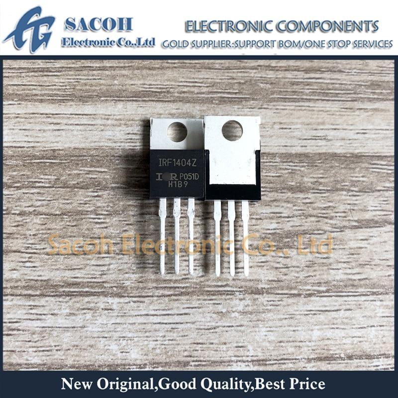 Frete grátis 10 pçs irf1404 irf1404z f1404z f1404 to-220 162a 40 v potência mosfet transistor