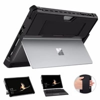 moko case for microsoft surface go 2all in one protective rugged cover case with pen holder hand strap for surface go 10 inch