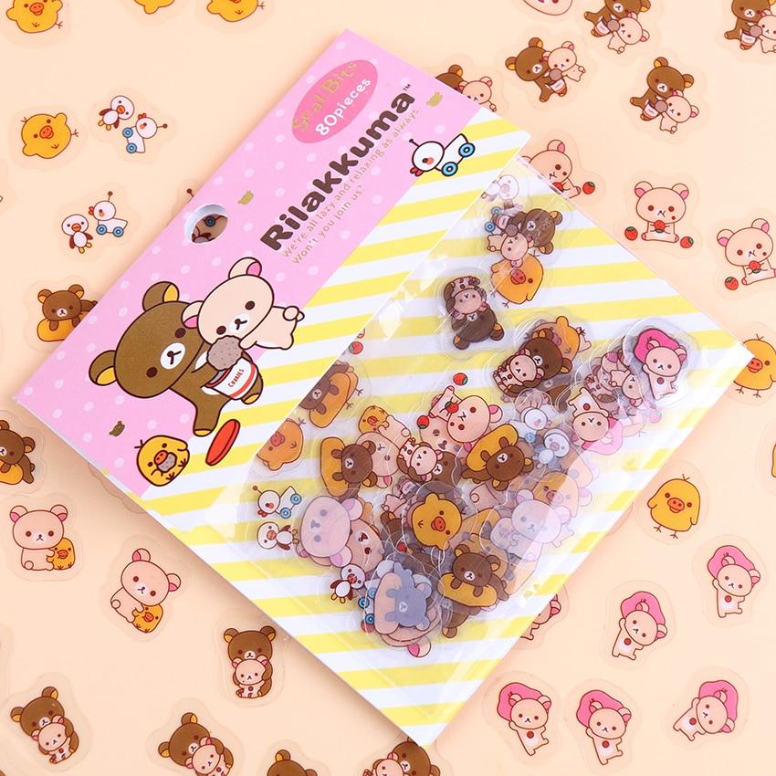 80-unids-lote-kawaii-rilakkuma-su-circo-amigos-serie-sticker-pack-estudiante-decoracion-articulos-de-papeleria-con-etiquetas-de-regalo