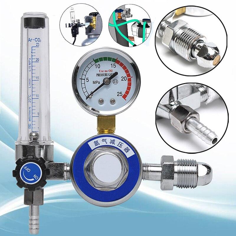 1Pcs High Quality AR Reducer Pressure Gas Flowmeter Argon Regulator For Tig Welding Machines