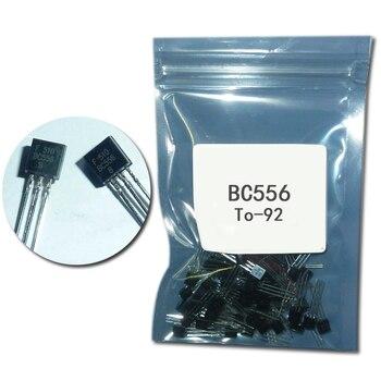 100 шт./лот bc556 to92 набор транзисторов BC556 TO-92 Мощный транзистор DIP 0.1A 65v оригинальный ransistor