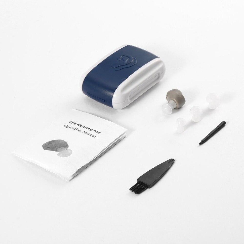 Amplificador de voz y sonido para audífonos en el oído, miniaudífono de tono ajustable, cuidado de la salud del oído para personas mayores para personas sordas, caliente