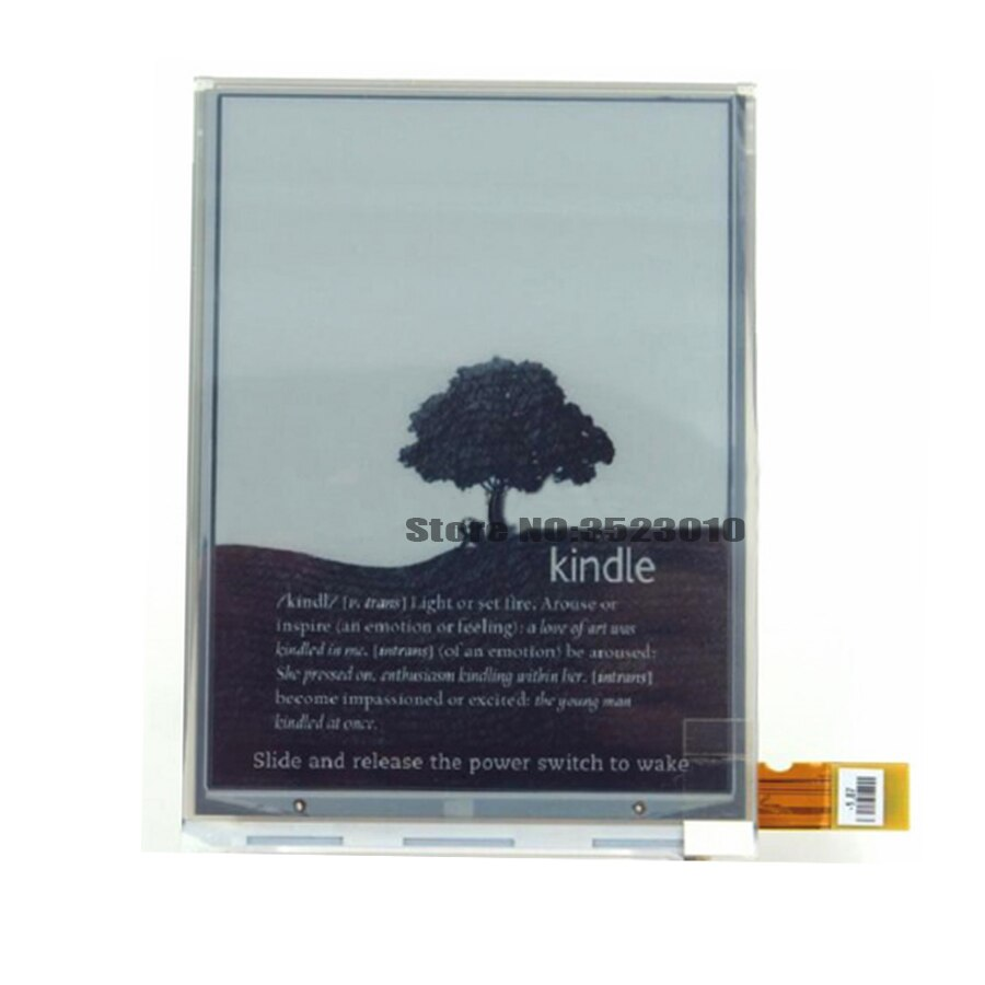 Original ED060SCE PVI 6 pulgadas ED060SCE (LF) T1 E-Pantalla de tinta para NOOK2 SONY PRS-T2 SONY PRS-T1 KOBO N905 Ereader