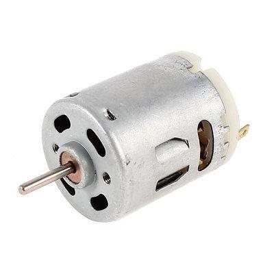 R365 5000RPM velocidad rotativa forma del cilindro 2x12mm eje eléctrico Micro DC Motor 12V 50mA