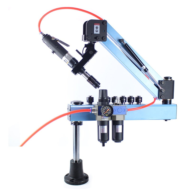 QM-12W M3-M12 Automatic Pneumatic Threading Machine Air Tapping Machine Pneumaic Tapper Tool Universal Head