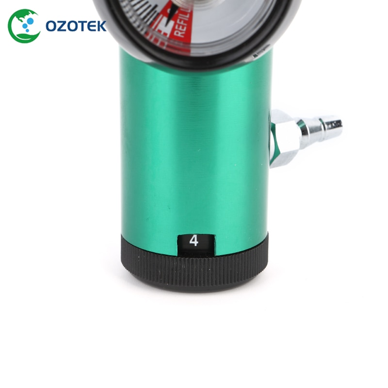 Oxygen regulator/Flowmeter CGA540 for medical ozone generator MOG003 5-99ug/ml