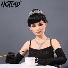 Cosplay Hepburn réel Silicone poupée de sexe Celeb Cougar métal squelette Silicone poupée de sexe réaliste femme poupée de sexe jouets sexuels pour hommes