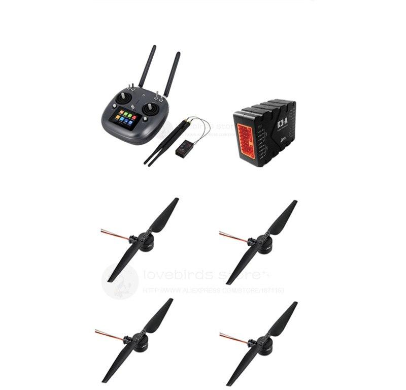 JIYI K3-A pro + FC SIYI DK32 + X8 FOC kit de potencia para DIY 10L/15L/16L agrícola Dron rociador