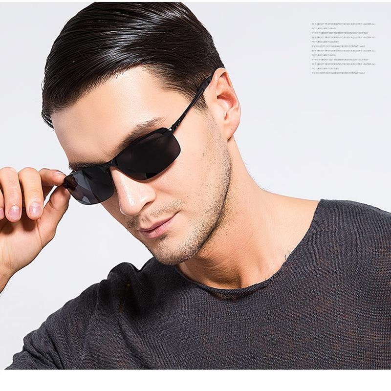 Aluminum Brand New Polarized Sunglasses Men Fashion Sun Glasses Travel Driving Male Eyewear Oculos G