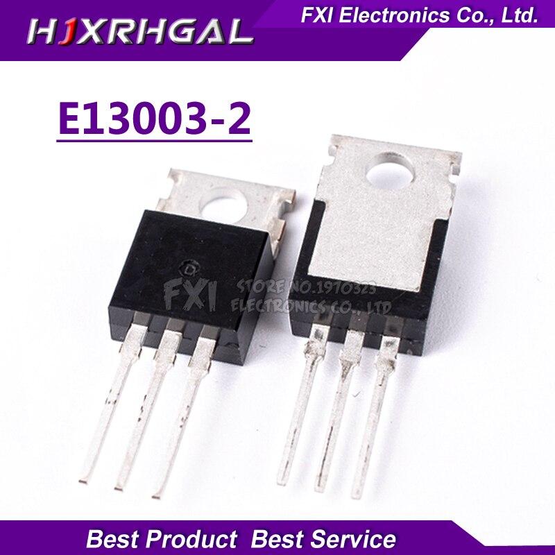 10 Uds E13003-2 TO220 NPN transistores E13003-220 MJE13003-2 MJE13003
