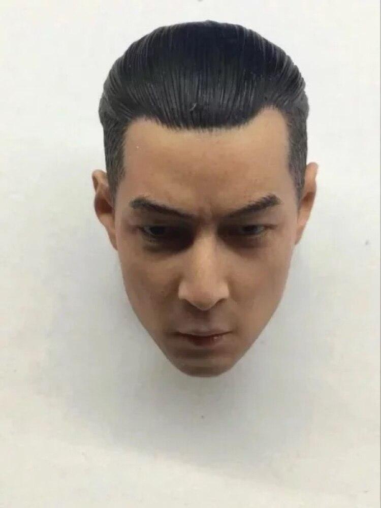 Personalizado 1/6 Daniel Wu Cabeça Sculpt Ouviu Joe Szema JIAOUL HOT TOY Figuras Corpo Headplay apto para Phicen