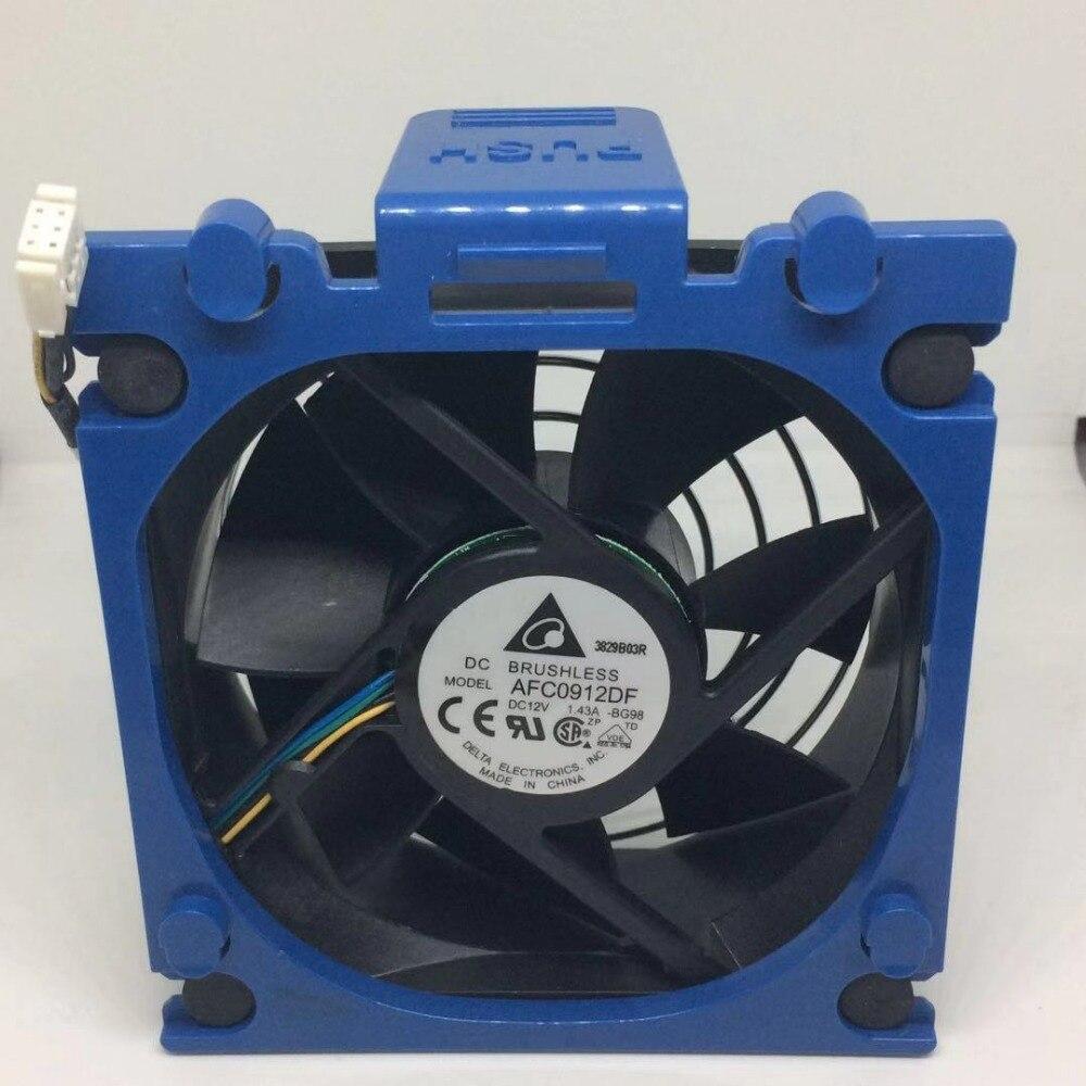 Marca nueva original Delta ML110 G7 AFC0912DF U7581 9 CM 9232 12 V 1.43A ventilador chasis