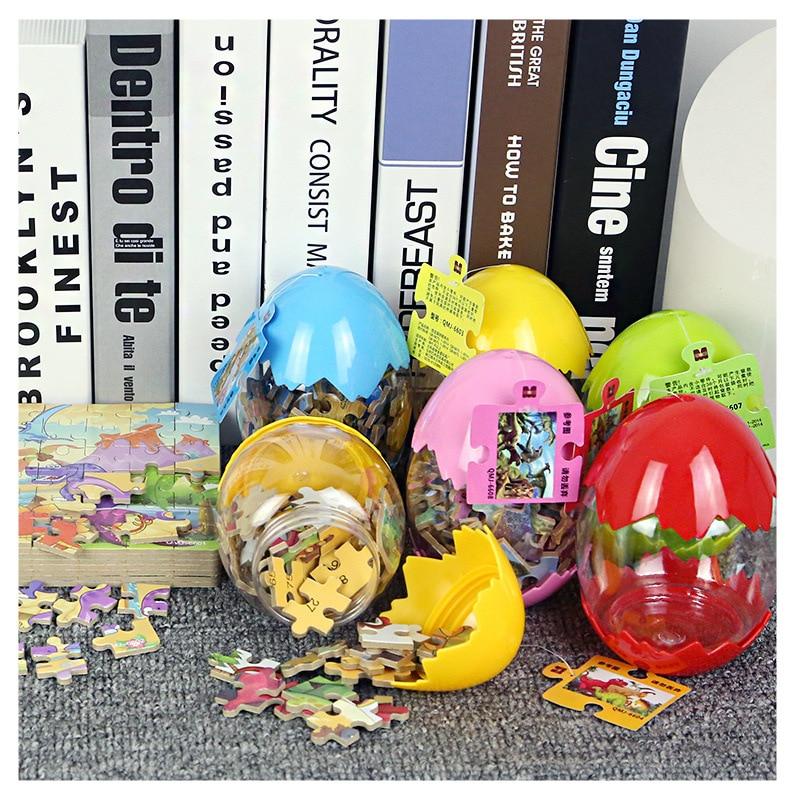 Dinosaur Eggs Kids Toys Gift Puzzles Jurassic World Wooden Toys Dinosaur park Puzzle Educational Toys Children Kids Baby Gift
