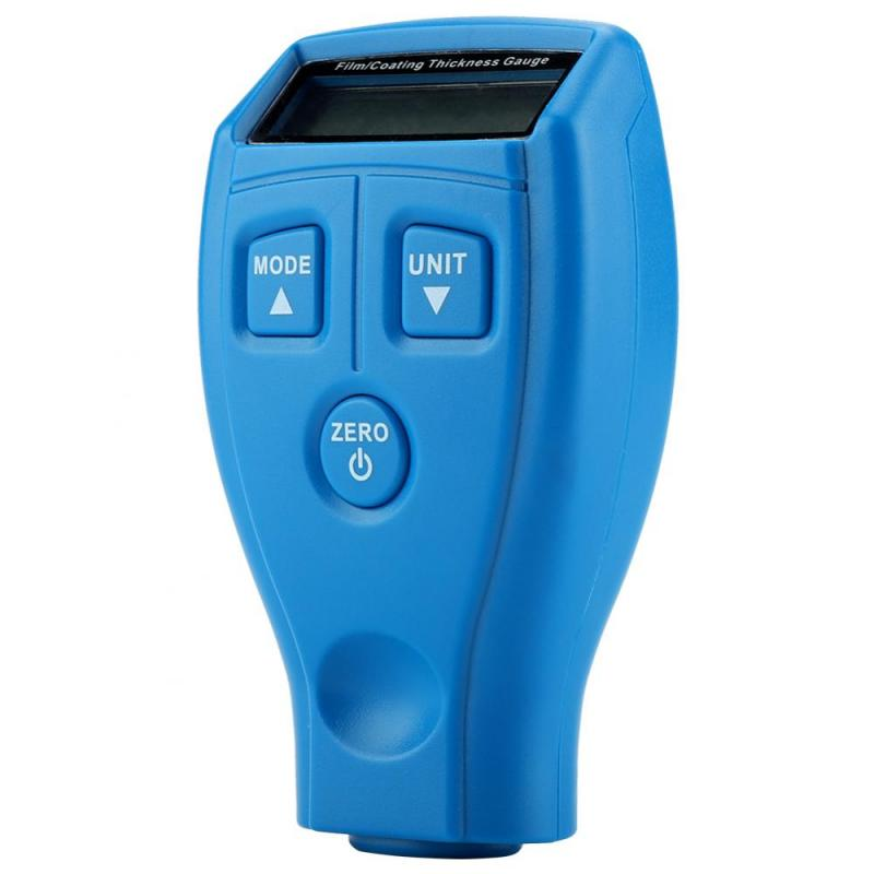 Gm200a lcd digital medidor de espessura de revestimento pintura do carro medidor automotivo ferramentas testador acessório