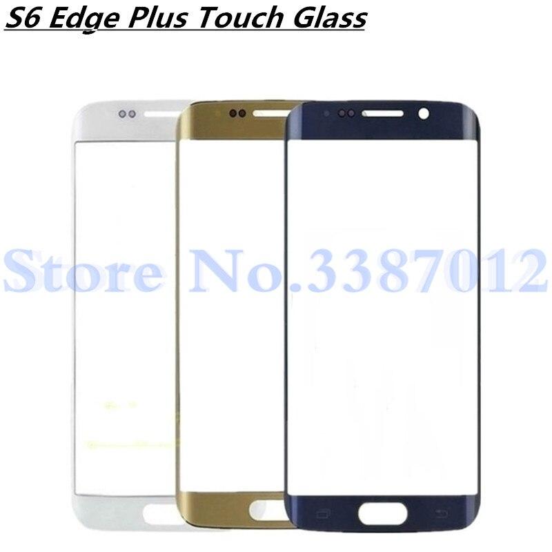 5,7 para Samsung Galaxy S6 Edge Plus S6Edge más G928 G928F digitalizador de pantalla táctil de vidrio exterior de piezas de reparación