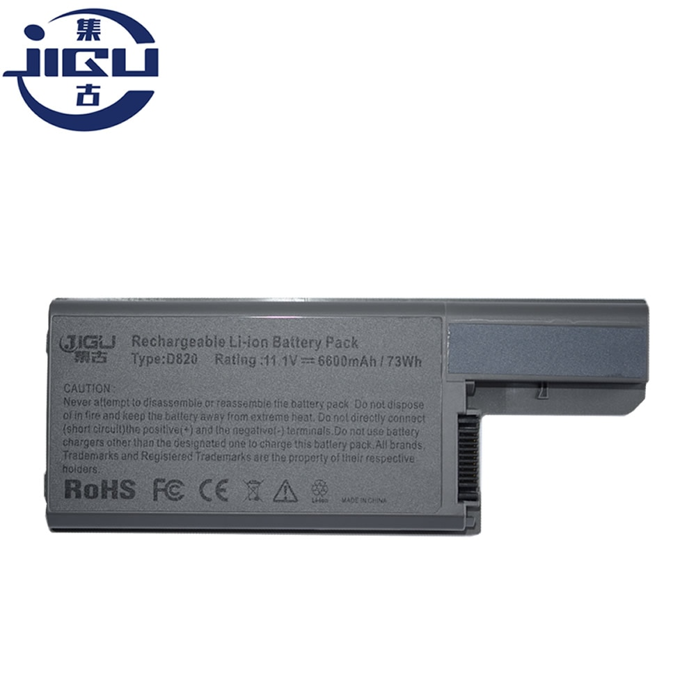 JIGU Li-Ion batería para portátil batería ordenador portátil reemplazo para Dell para la latitud D820 D531 D531N D830 precisión M4300 M65 310-9122, 312-0393, 312-0401