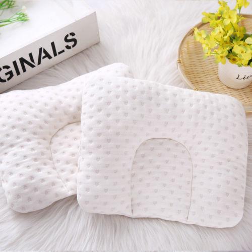 Infant Newborn Baby Pillow Cushion Prevent Flat Head Sleep Nest Pod Anti Roll