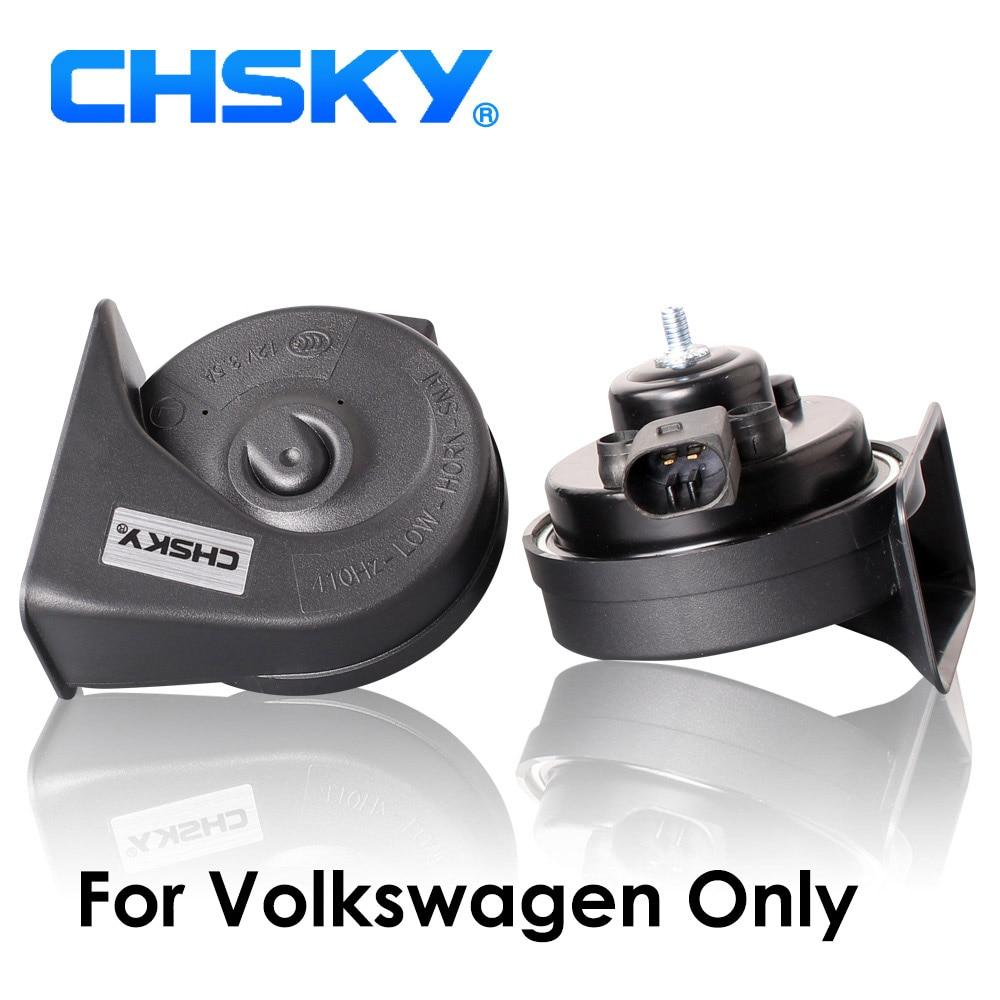 Claxon especial para VW, Claxon de 12V 110-129db para VW Passat, Golf, Polo, Jetta Claxon, bocina Caracol, estilismo para coche