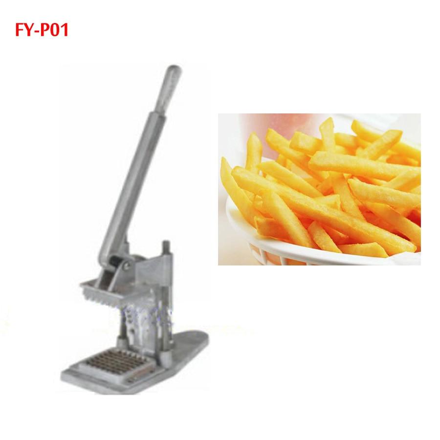 FY-P01 دليل المقلية قطع آلة قطع البطاطا آلة قطع الفجل الخيار قطّاعة بطاطس 1 قطعة