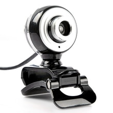 New Fashion HD Webcam 12M Pixels USB2.0 Computer Web Camera A848 Built-in Microphone For PC Laptop C