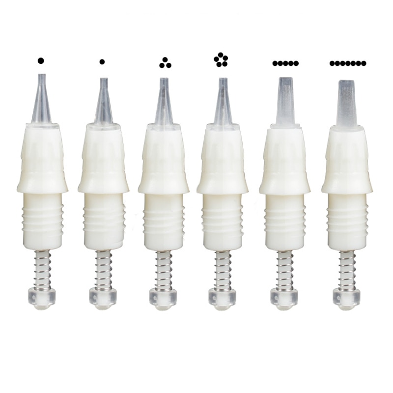 100PCS/lot Professional Cartridge Needle for Permanent Makeup Newest Charmant Machine