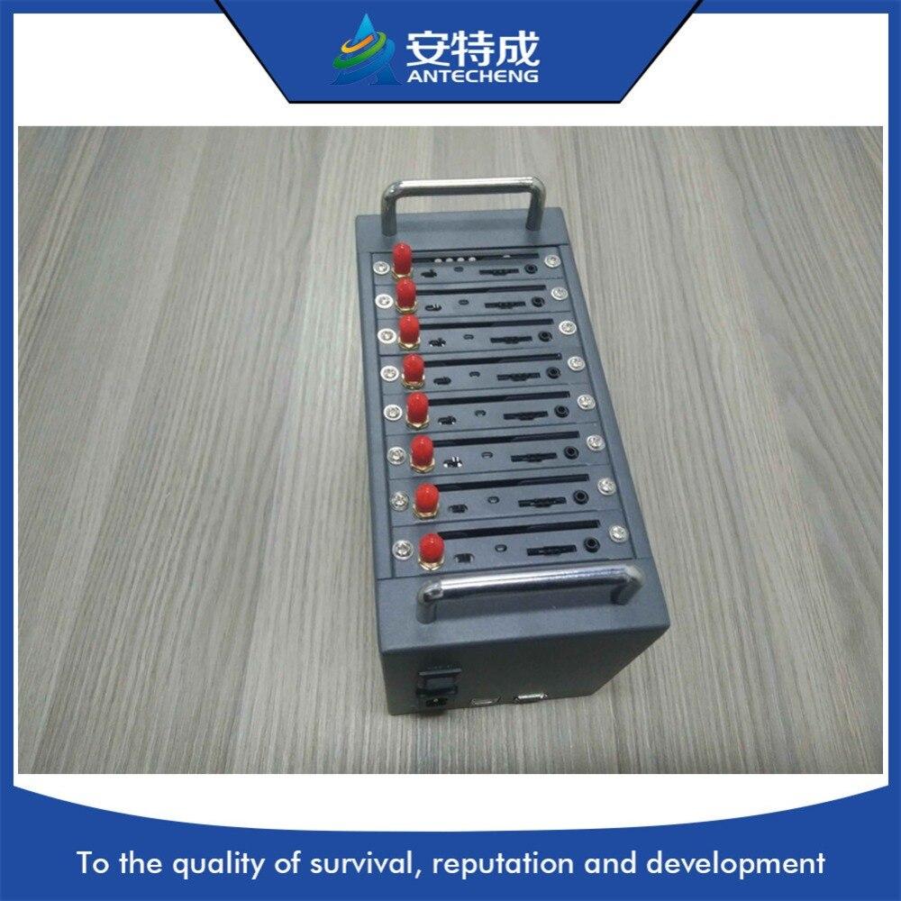 Antecheng Wavecom usb gsm modem 8 port for bulk gsm sms 8 port modem pool, sms gsm modem 8 sim gsm gprs modem pool