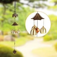 copper wind chimes healthy metal decoratio for yard garden living room outdoor chapel bells wall hanging home decor mascot gifts