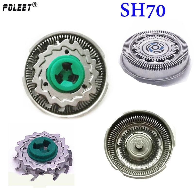 Головка для бритвы Poleet 3 компллот SH70, Сменная головка для philips, лезвие для бритвы S700, S9031, S7000, S7010, S7310, SH50, SH90, S7980, S7311