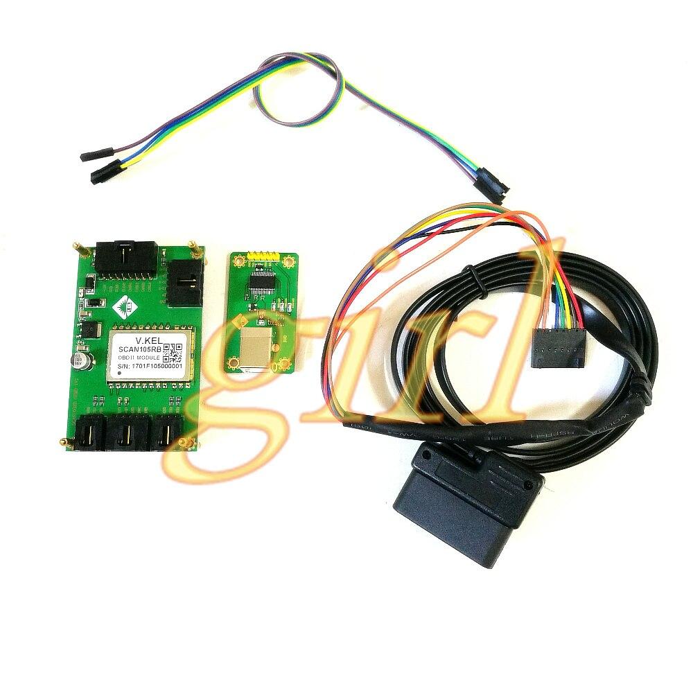 لوحة تطوير برنامج لوحة اختبار OBD2 ، أداة تشغيل للمركبات d